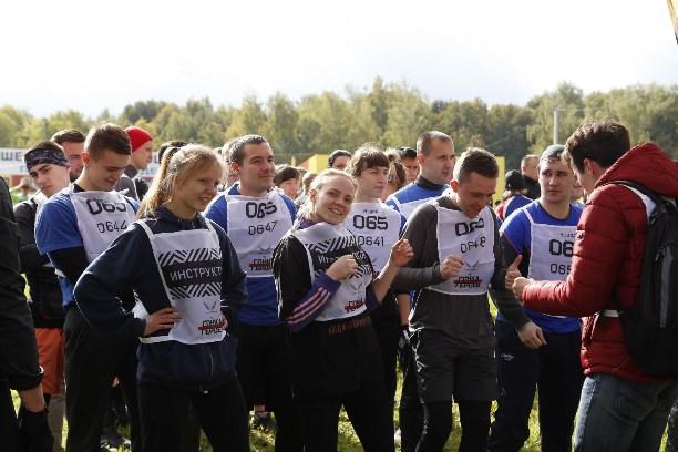 ВТуле проходит всероссийский забег спрепятствиями «Гонка Героев»