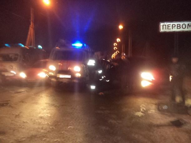ВТульской области 8 пассажиров маршрутки пострадали в трагедии