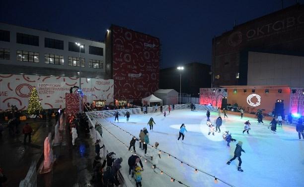 Встарый Новый год туляков ожидает  ледовое шоу наплощади Ленина