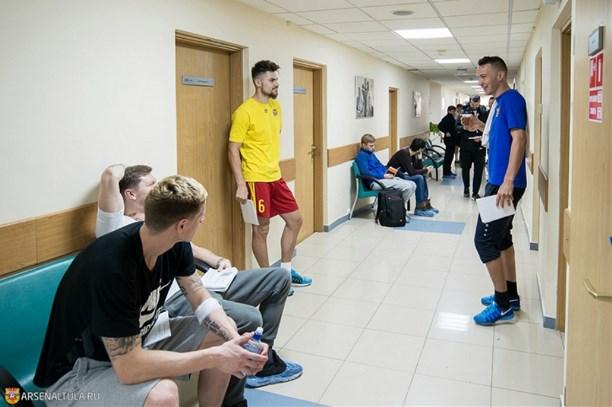 Владимир Габулов проходит медобследование стульским «Арсеналом»