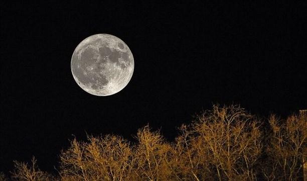 Вночь навоскресенье земляне увидят первое суперлуние внынешнем году