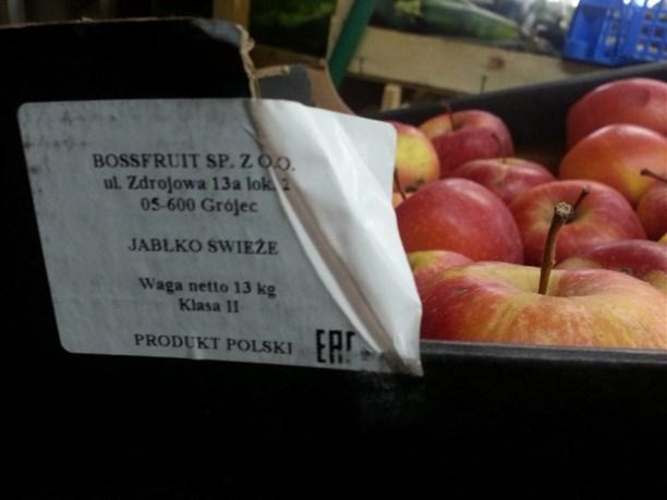 ВТК «Южный» отыскали санкционные яблоки игруши
