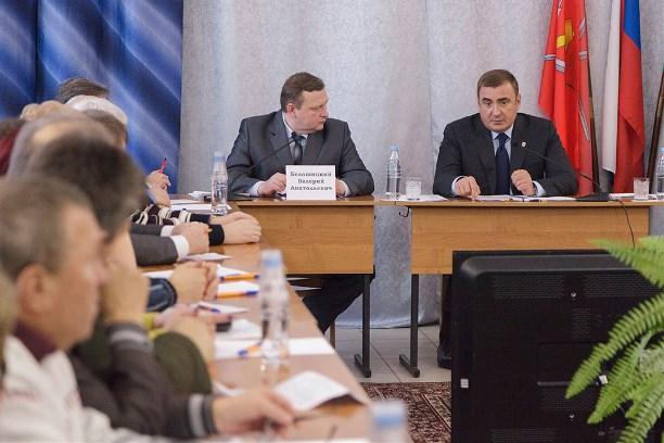 Алексей Дюмин встретится собщественностью вЧернском районе