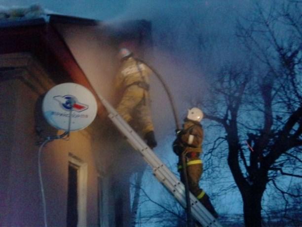 ВТуле 1января горел дом, сообщается опострадавшем