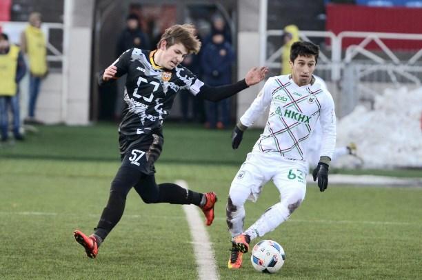 «Рубин» и«Арсенал» сыграли вничью вматче молодежного главенства