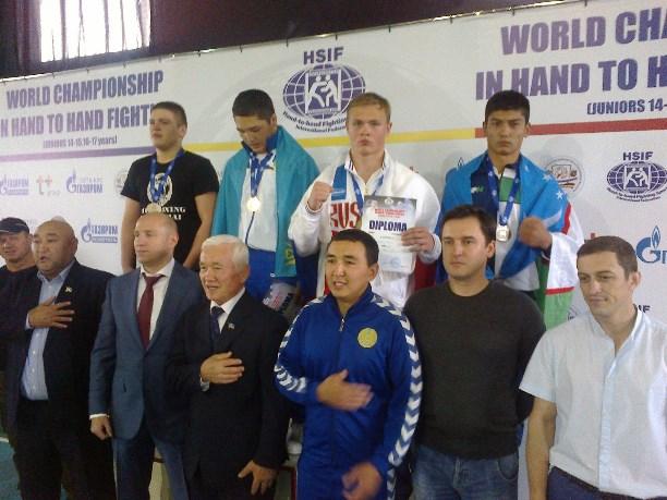 Молодые рукопашники победили наПервенстве Мира вКишиневе