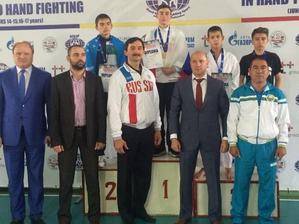 Молодые рукопашники изСтаврополя завоевали награды напервенстве мира