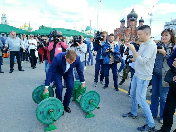 ВТуле прошла «Большая тренировка» с«МатчТВ»