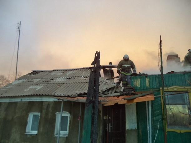 22 спасателя тушили ночной пожар вЩекинском районе