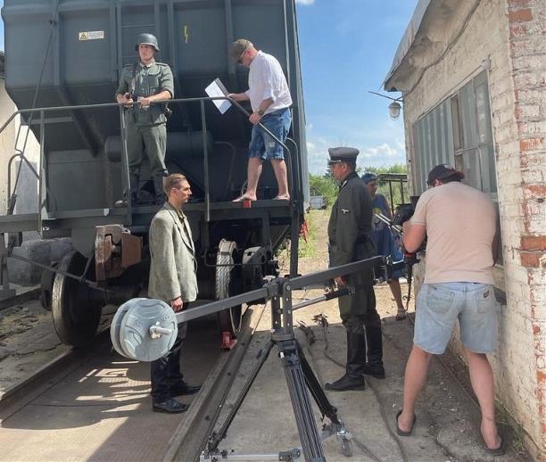 В Ясногорске снимают фэнтези о Великой Отечественной войне