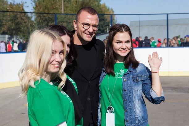 Сухарулидзе приехал вТулу вдень открытия нового стадиона иWorldSkills Russia