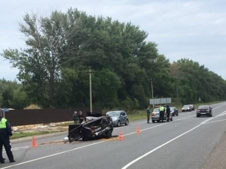 Под Тулой наМ-2 столкнулись фургон «Даф» иВАЗ— пострадал человек