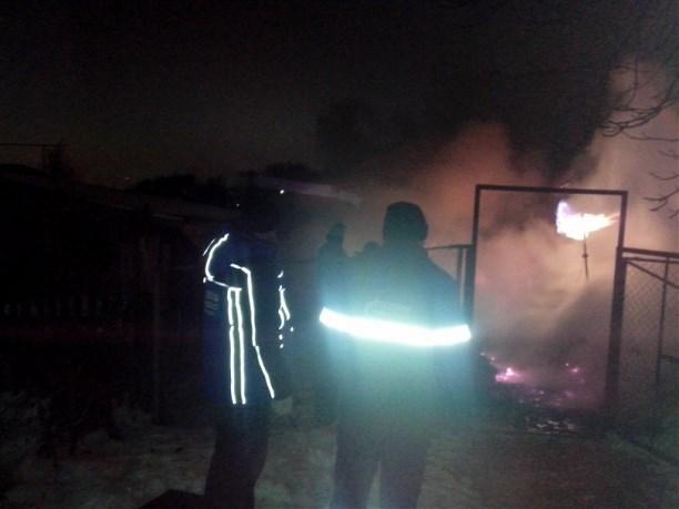 ВЯсногорске ночью сгорели два частных дома
