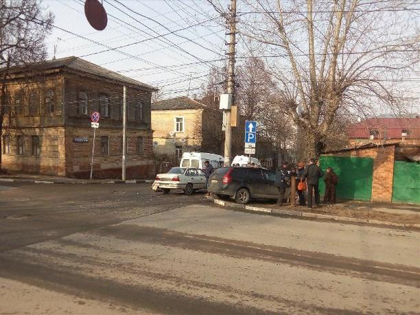ВТуле встолкновении 2-х авто пострадал ребенок