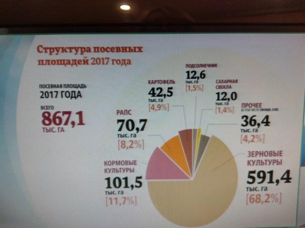 Росстат: РФк1октября увеличила сбор зерна на12,8%