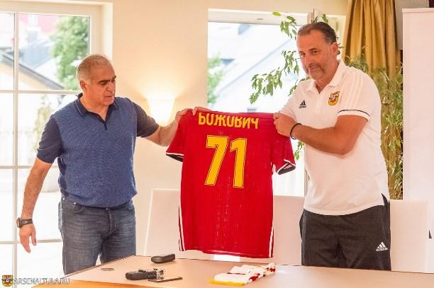 Божович подписал однолетний договор стульским «Арсеналом»