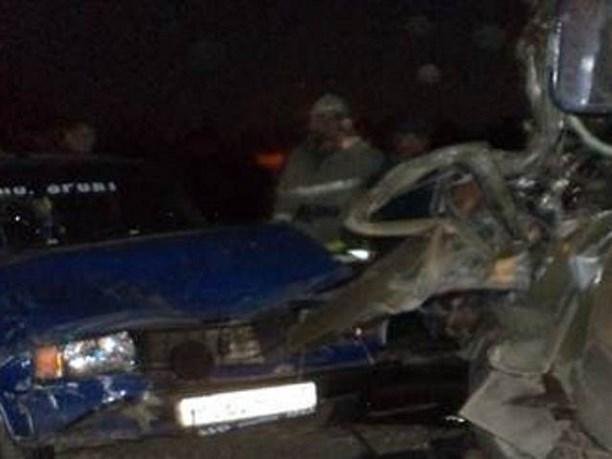 ВТульской области вдвойном ДТП умер шофёр УАЗа