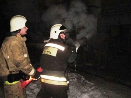 Личный дом вТуле горел больше получаса: пострадал хозяин