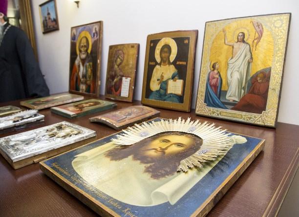 В столичных антикварных магазинах отыскали краденые тульские иконы