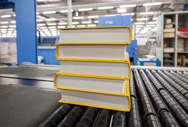 Печать книги в типографии