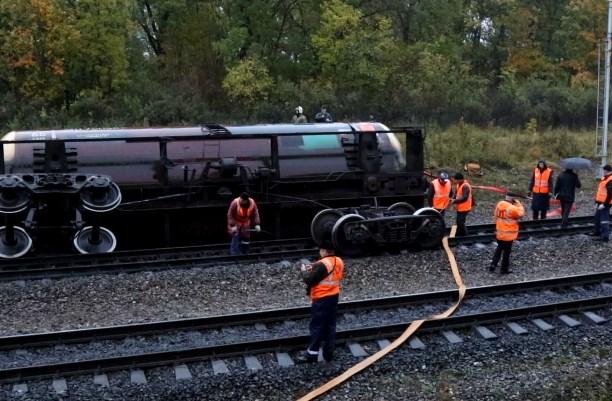 Видеоролики с авариями на железной дороге