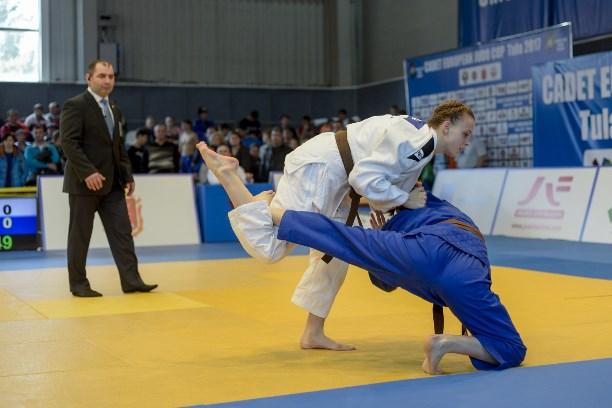 ВТульской области проходит Кубок Европы подзюдо среди кадетов