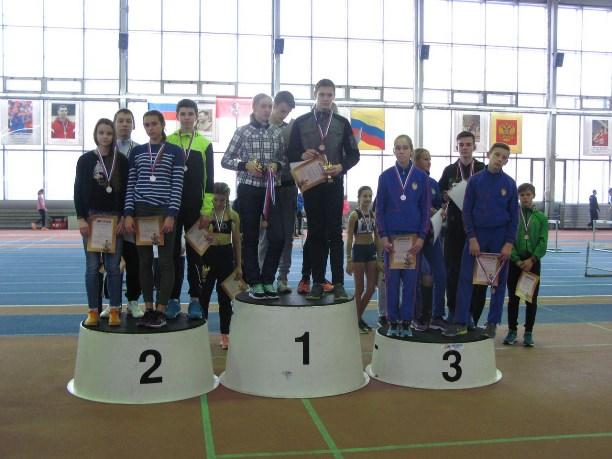 Тульские легкоатлеты завоевали призы натурнире в столице России