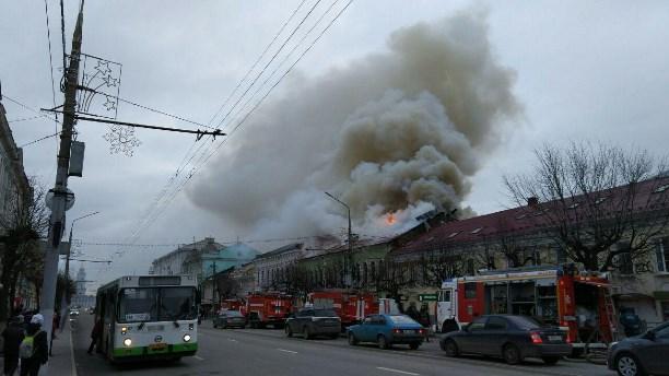 ВТуле напроспекте Ленина зажегся магазин «Беларусь мебель»