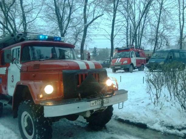 ВТуле пожарные спасли изогня 2-х пожилых людей