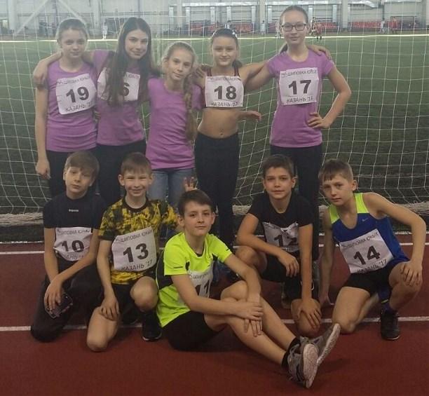 Тульские легкоатлеты отличились на«Шиповке юных»