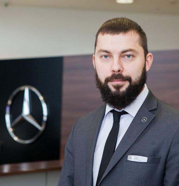 Игорь Поляков, эксперт по продукту ООО «Кардинал», официального дилера «Мерседес-Бенц»