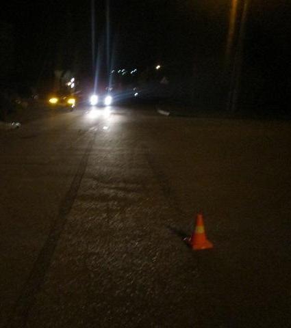 ВТульской области «ВАЗ» неуступил дорогу пешеходу