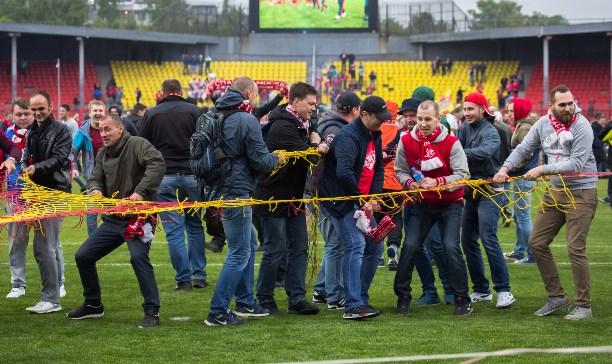 «Спартак» заплатит 1 млн руб. заразгром стадиона вТуле