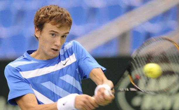 Тульский теннисист проиграл в первом круге турнира «Челенджер»