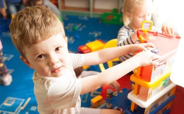 Детские сады в Тульской области работают в обычном режиме