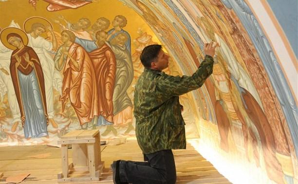 Храм Дмитрия Донского в Тульском кремле освятят ко Дню города