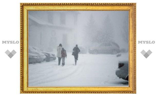 МЧС объявило штормовое предупреждение в Тульской области