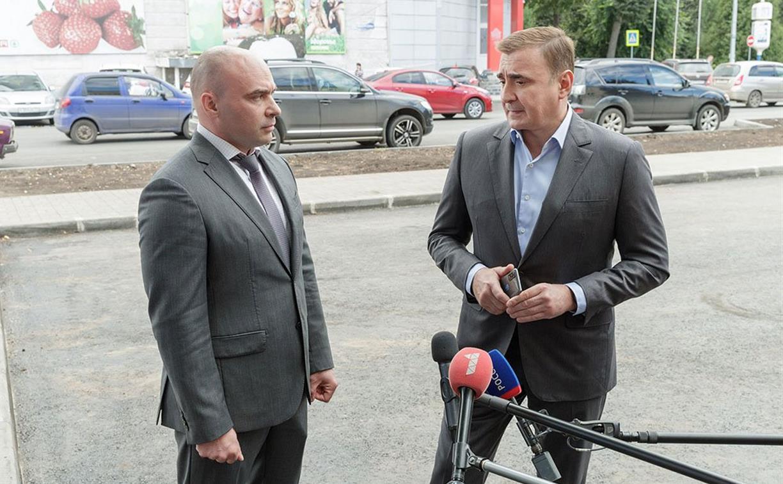 Центральную площадь Новомосковска благоустроят за 80 млн рублей