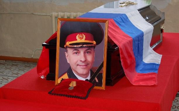 В Богородицком районе простились с погибшим в авиакатастрофе Виктором Саниным