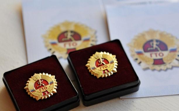 50 тульских выпускников получат золотой знак «ГТО»