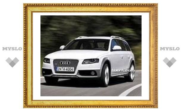 Audi готовит новый универсал А4 Allroad