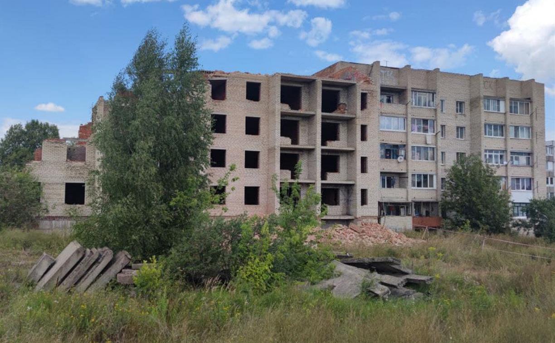 Туляки: В Болохово подрядчики начали разбирать дом, в котором живут люди