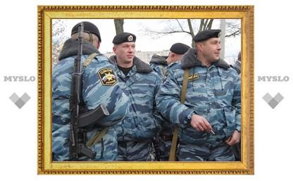 Тульский ОМОН отправили в Москву