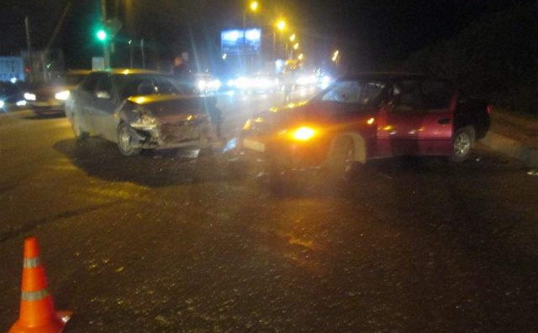 В Туле в ДТП на улице Рязанской пострадал годовалый ребенок