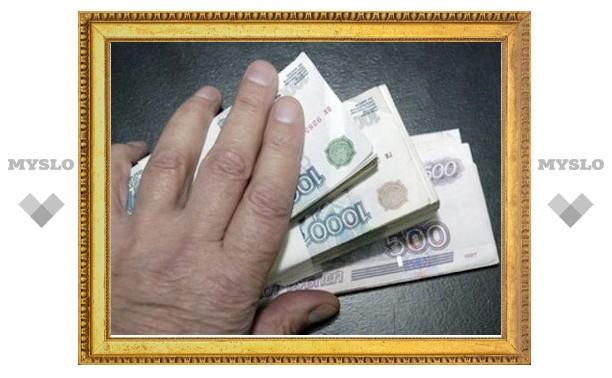 Долг по зарплате в Тульской области сократился