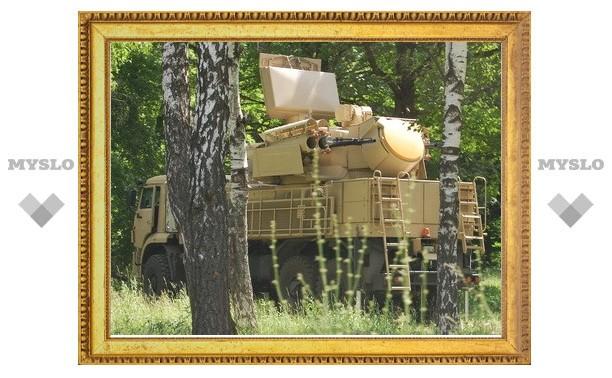 Туляки нашли в лесу «Панцирь-С1»