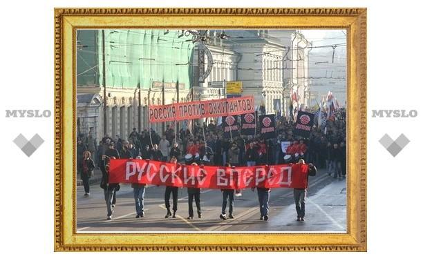 """По Туле пройдет """"Русский марш"""""""