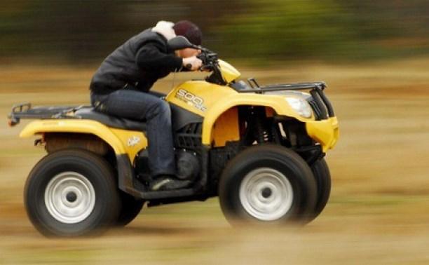 В Тульской области мошенник угнал квадроцикл