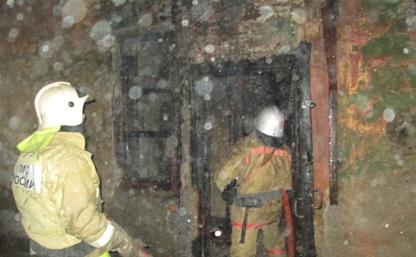 В пожаре в Туле пострадал 40-летний мужчина