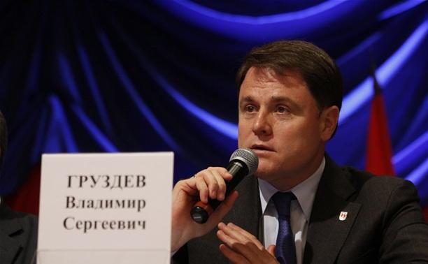 8 ноября Владимир Груздев встретится с жителями Ясногорского района